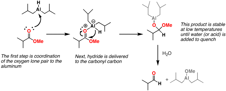 dibal h nitrile reduction